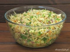 Polish Recipes, Polish Food, Coleslaw, Guacamole, Potato Salad, Cabbage, Healthy Lifestyle, Food And Drink, Vegetables