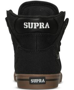 Supra Little Boys' Vaider Casual Sneakers from Finish Line - Gray 4.5