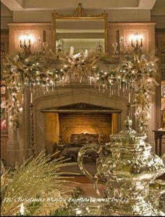 Tannenbaum, Weihnachten Dekoration, Weihnachtszeit, Schmuck,  Weihnachtsdekorationen, Weihnachten Diy, Eleganter Weihnachtsdekor, Weihnachten  Kaminsims, ...