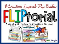 How to assemble a flip book. Your visual guide. Fliptorial from Study All Knight.