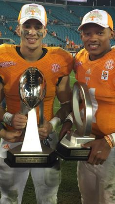 Congrats to Hurd and Dobbs. Tn beat Iowa by 45-28 on Jan 2, 2015.