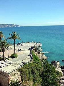 Costa Del Sol in Nerja, Spain Wonderful Places, Great Places, Places To See, Beautiful Places, Nerja Spain, Andalucia Spain, Travel Around The World, Around The Worlds, Places In Spain