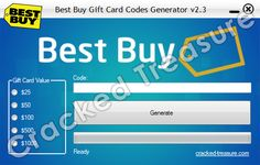Free Best Buy Gift Card Codes Generator: http://cracked-treasure.com/generators/free-best-buy-gift-card-codes-generator