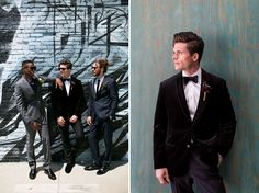 Groomsmen Fashion from the Black Tux