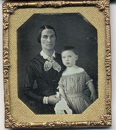 Daguerreotype Mother and Child Very Nice 005 | eBay