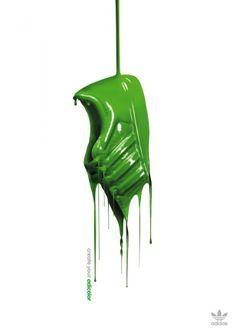 #graphic design #advertisement #Adidas: Create your adicolor, 3