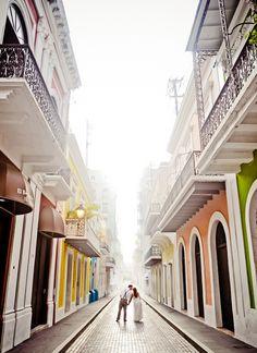 Foto tomada en el Viejo San Juan PR