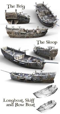 Printable Scenery's latest printable RPG and wargaming models take you to sea Model Sailing Ships, Old Sailing Ships, Model Ships, Model Ship Building, Boat Building, Ship Map, Ship Drawing, Wooden Ship, Tall Ships