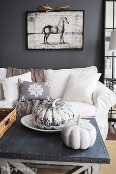 50 Shades of Grey Home Decor - The Cottage Market