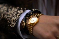 Casio White Dial Watch.