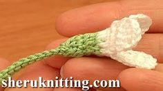 Sheruknittingcom - YouTube Crochet Snowdrop Flower Pattern Tutorial 75 Free