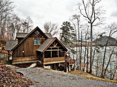 Custom Home for Sale at Lone Mountain Shores - Norris Lake, TN Norris Lake Tennessee, Lots For Sale, Property Listing, Custom Homes, Cabins, Future House, Lonely, Retirement, Condo