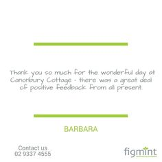 Another happy client. #figmintcatering #birthdayparty #celebrations #events #entertainingwithfigmint #sydneycaterer #parties #goodtimes #cocktailparty