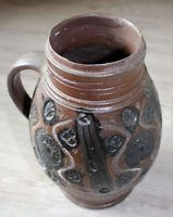 Old Stoneware Mug, Bad Muskau 1720/30 VERY RARE Antique Pottery, Stoneware Mugs, Vase, Antiques, Image Search, Artists, Home Decor, Homemade Home Decor, Antiquities