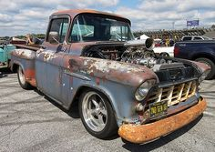 1955 Chevy Truck Perfect.