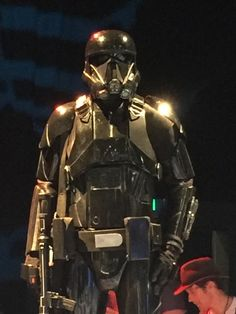 Rogue One: A Star Wars Story exhibit at the Star Wars Celebration event.
