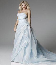 Light Blue Wedding Dresses | Women Dress Ideas