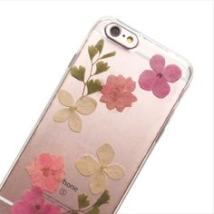 Pressed Pink Baby Blossoms Phone Case