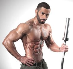 Lazar Angelov workout program. His body is perfectly worked.