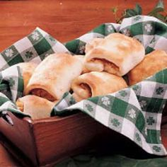 Rueben roll-ups for St. Patty's Day