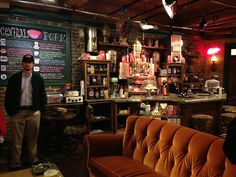 Just like Central Perk From  F R I E N D S** coffee shop design