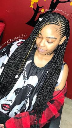 263 best braids with weave images in 2019  black girls
