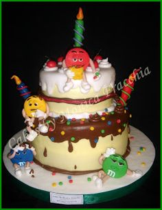 TORTA DECORADA DE M y M | TORTAS CAKES BY MONICA FRACCHIA