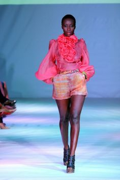 CHRISTIE BROWN @ GHANA FASHION & DESIGN WEEK ~ INSPIRED BY CREATIVITY
