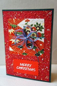 Christmas card Japanese style