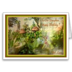 A Magical Place Happy Birthday Daughter Card