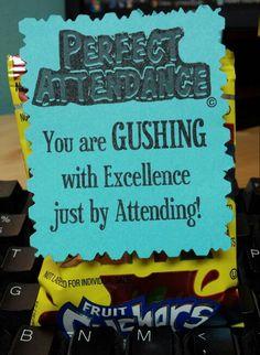 Student attendance incentive prizes ideas