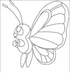 Disegni da colorare per bambini. Colorare e stampa Pokemon 81