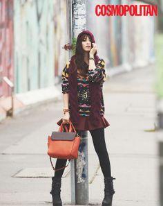 KTHx || KTHxCOSMO || KTH || COSMO || Kim Tae Hee for Cosmopolitan November 2013 issue ∞