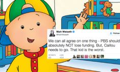 This Is How Much People Hate 'Caillou'