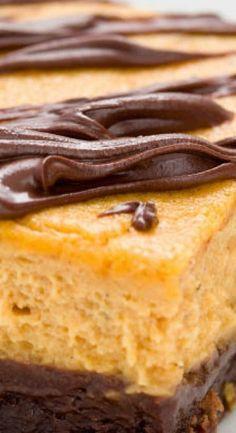 Orange cake without flour - HQ Recipes Cheesecake Brownie Bars, Pumpkin Cheesecake Recipes, Pumpkin Recipes, Fall Recipes, Thanksgiving Recipes, Holiday Recipes, Pumpkin Foods, Drink Recipes, Pumpkin Dessert