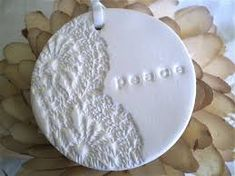 Image result for lace imprinted polymer clay