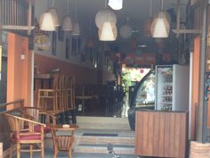 The Front of Café Le Petit Paris Ubud