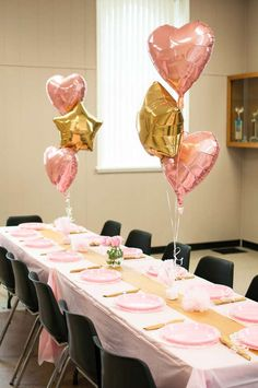 Ballerina Theme (Pink and Gold) Birthday Party Ideas | Photo 8 of 42