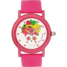 Product Image - wayyy cute pink-skull watch, must have ! :)