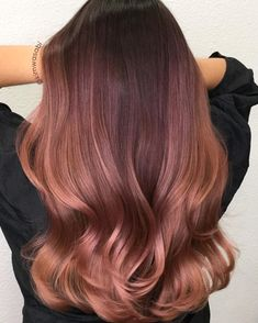 25 Eye Catching Rose Gold Hair Ideas For 2017 All Hairstyles | rose brown hair