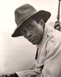 Calvin Lockhart [1934-2007] was a Bahamian-American actor on stage and in film.