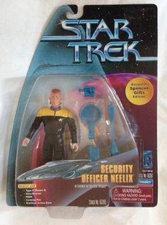Security Officer Neelix Star Trek Voyager Exclusive Spencer Gifts Action Figure
