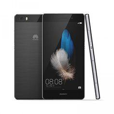 NEW #HUAWEI #P8 LITE #BLACK 2GB RAM 16GB ROM 13MP #CAMERA DUAL SIM 4G LTE #SMARTPHONE - HERBETRADE SAFE TRADE ON NET CELLPHONE STORE
