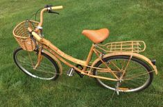 "#Vintage #Bamboo, #Wicker And #Rattan 1940-1960 #Bicycle- 26"" #ForSale #SportingGoods - #GrandRapids, MI at #Geebo"