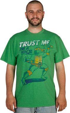 TMNT Michelangelo Trust Me Shirt