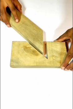 Woodworking Joints, Woodworking Techniques, Woodworking Projects, Diy Wood Projects, Wood Crafts, Projects To Try, Cool Tools, Diy Tools, 3 Piece Canvas Art