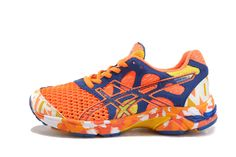 Womens Asics Gel-noosa TRI 7 Shoes Orange Blue