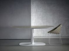 Piet Boon Styling by Karin meyn | Kekke table with wooden top and leather Kekke chair