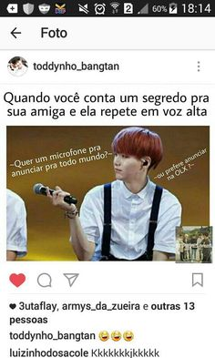 New memes kpop rindo sem legenda ideas Bts Memes, Bts Meme Faces, K Meme, Funny Memes, Jokes, K Pop, Bts Suga, Bts Bangtan Boy, Bts Imagine