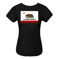 California state flag or flag of the Bear Republic. $19.99 ink.flagnation.com